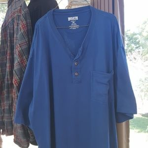 Duluth trading co., med blue, size 2xl, like new